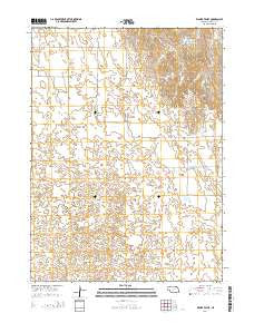 Kilmer Valley Nebraska Current topographic map, 1:24000 scale, 7.5 X 7.5 Minute, Year 2014