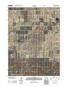 Kimball SE Nebraska Historical topographic map, 1:24000 scale, 7.5 X 7.5 Minute, Year 2011