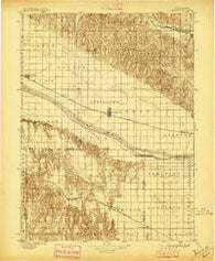 Lexington Nebraska Historical topographic map, 1:125000 scale, 30 X 30 Minute, Year 1896