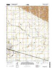 Lexington East Nebraska Current topographic map, 1:24000 scale, 7.5 X 7.5 Minute, Year 2014