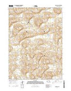 Long Valley Nebraska Current topographic map, 1:24000 scale, 7.5 X 7.5 Minute, Year 2014 from Nebraska Map Store
