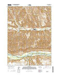 Lynch Nebraska Current topographic map, 1:24000 scale, 7.5 X 7.5 Minute, Year 2014
