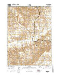 Marsland Nebraska Current topographic map, 1:24000 scale, 7.5 X 7.5 Minute, Year 2014