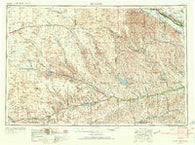 McCook Nebraska Historical topographic map, 1:250000 scale, 1 X 2 Degree, Year 1954