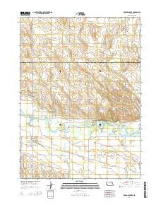Meadow Grove Nebraska Current topographic map, 1:24000 scale, 7.5 X 7.5 Minute, Year 2014
