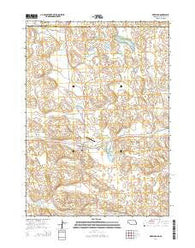 Merriman Nebraska Current topographic map, 1:24000 scale, 7.5 X 7.5 Minute, Year 2014