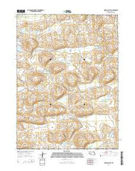 Middle Valley Nebraska Current topographic map, 1:24000 scale, 7.5 X 7.5 Minute, Year 2014