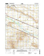 Minatare Nebraska Current topographic map, 1:24000 scale, 7.5 X 7.5 Minute, Year 2014 from Nebraska Map Store