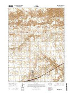 Minden North Nebraska Current topographic map, 1:24000 scale, 7.5 X 7.5 Minute, Year 2014 from Nebraska Map Store