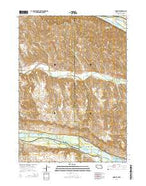 Monowi Nebraska Current topographic map, 1:24000 scale, 7.5 X 7.5 Minute, Year 2014 from Nebraska Map Store