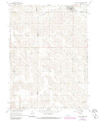 Newman Grove Nebraska Historical topographic map, 1:24000 scale, 7.5 X 7.5 Minute, Year 1966
