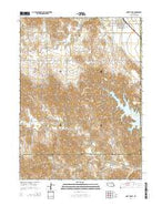 North Loup Nebraska Current topographic map, 1:24000 scale, 7.5 X 7.5 Minute, Year 2014 from Nebraska Map Store