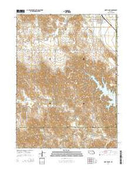 North Loup Nebraska Current topographic map, 1:24000 scale, 7.5 X 7.5 Minute, Year 2014