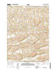 North Valley Nebraska Current topographic map, 1:24000 scale, 7.5 X 7.5 Minute, Year 2014