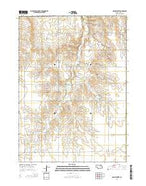 Opportunity Nebraska Current topographic map, 1:24000 scale, 7.5 X 7.5 Minute, Year 2014 from Nebraska Map Store