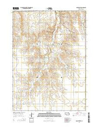 Opportunity Nebraska Current topographic map, 1:24000 scale, 7.5 X 7.5 Minute, Year 2014