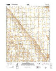 Ough Nebraska Current topographic map, 1:24000 scale, 7.5 X 7.5 Minute, Year 2014