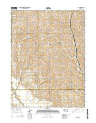 Paul Nebraska Current topographic map, 1:24000 scale, 7.5 X 7.5 Minute, Year 2014