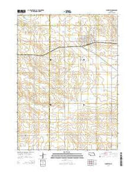 Plainview Nebraska Current topographic map, 1:24000 scale, 7.5 X 7.5 Minute, Year 2014