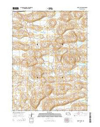 Pratt Valley Nebraska Current topographic map, 1:24000 scale, 7.5 X 7.5 Minute, Year 2014