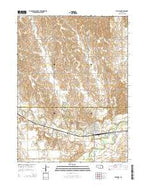 Ravenna Nebraska Current topographic map, 1:24000 scale, 7.5 X 7.5 Minute, Year 2014 from Nebraska Map Store