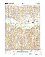 Red Cloud Nebraska Current topographic map, 1:24000 scale, 7.5 X 7.5 Minute, Year 2014 from Nebraska Map Store