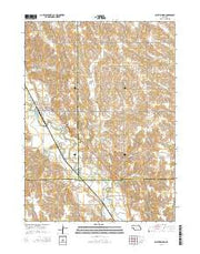 Saint Edward Nebraska Current topographic map, 1:24000 scale, 7.5 X 7.5 Minute, Year 2014 from Nebraska Maps Store
