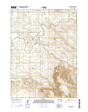 Stegall Nebraska Current topographic map, 1:24000 scale, 7.5 X 7.5 Minute, Year 2014 from Nebraska Maps Store