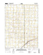 Venango Nebraska Current topographic map, 1:24000 scale, 7.5 X 7.5 Minute, Year 2014 from Nebraska Map Store