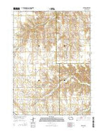 Venus Nebraska Current topographic map, 1:24000 scale, 7.5 X 7.5 Minute, Year 2014 from Nebraska Map Store