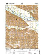 Verdel Nebraska Current topographic map, 1:24000 scale, 7.5 X 7.5 Minute, Year 2014 from Nebraska Map Store