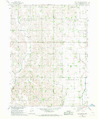 West Point SE Nebraska Historical topographic map, 1:24000 scale, 7.5 X 7.5 Minute, Year 1966