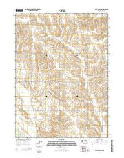 West Point NW Nebraska Current topographic map, 1:24000 scale, 7.5 X 7.5 Minute, Year 2014 from Nebraska Maps Store