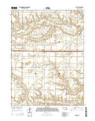 York SW Nebraska Current topographic map, 1:24000 scale, 7.5 X 7.5 Minute, Year 2014