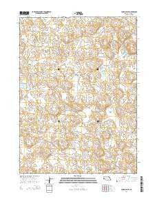 Young Valley Nebraska Current topographic map, 1:24000 scale, 7.5 X 7.5 Minute, Year 2014