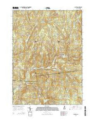Alstead New Hampshire Current topographic map, 1:24000 scale, 7.5 X 7.5 Minute, Year 2015