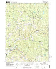 Alstead New Hampshire Historical topographic map, 1:24000 scale, 7.5 X 7.5 Minute, Year 1998