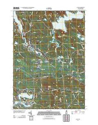 Alton New Hampshire Historical topographic map, 1:24000 scale, 7.5 X 7.5 Minute, Year 2012