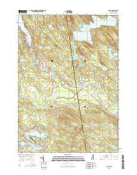 Alton New Hampshire Current topographic map, 1:24000 scale, 7.5 X 7.5 Minute, Year 2015