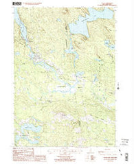 Alton New Hampshire Historical topographic map, 1:24000 scale, 7.5 X 7.5 Minute, Year 1987
