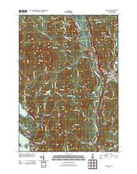 Ashland New Hampshire Historical topographic map, 1:24000 scale, 7.5 X 7.5 Minute, Year 2012