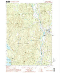 Ashland New Hampshire Historical topographic map, 1:24000 scale, 7.5 X 7.5 Minute, Year 2000