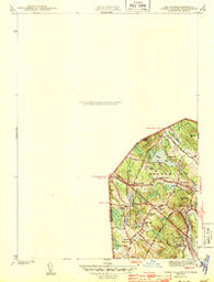 Ayers Village New Hampshire Historical topographic map, 1:31680 scale, 7.5 X 7.5 Minute, Year 1943