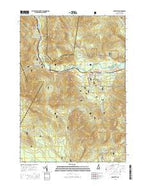 Bartlett New Hampshire Current topographic map, 1:24000 scale, 7.5 X 7.5 Minute, Year 2015 from New Hampshire Map Store
