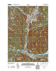 Berlin New Hampshire Historical topographic map, 1:24000 scale, 7.5 X 7.5 Minute, Year 2012