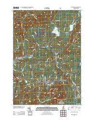 Bethlehem New Hampshire Historical topographic map, 1:24000 scale, 7.5 X 7.5 Minute, Year 2012