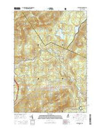 Bethlehem New Hampshire Current topographic map, 1:24000 scale, 7.5 X 7.5 Minute, Year 2015 from New Hampshire Map Store