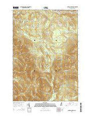 Bunnell Mountain New Hampshire Current topographic map, 1:24000 scale, 7.5 X 7.5 Minute, Year 2015 from New Hampshire Maps Store