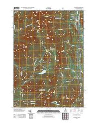 Chatham New Hampshire Historical topographic map, 1:24000 scale, 7.5 X 7.5 Minute, Year 2012