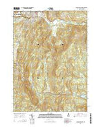 Claremont South New Hampshire Current topographic map, 1:24000 scale, 7.5 X 7.5 Minute, Year 2015 from New Hampshire Map Store